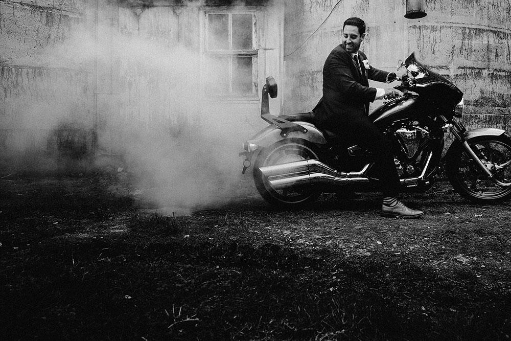 motorcycle exeter wedding photography toronto sudbury documentary luxury lifestyle