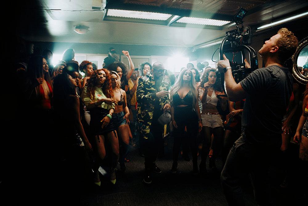Sean Paul Suh mi high BTS Photography