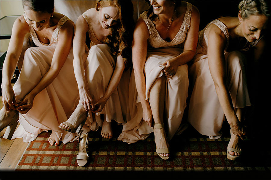 hockley valley resort wedding bridesmaids