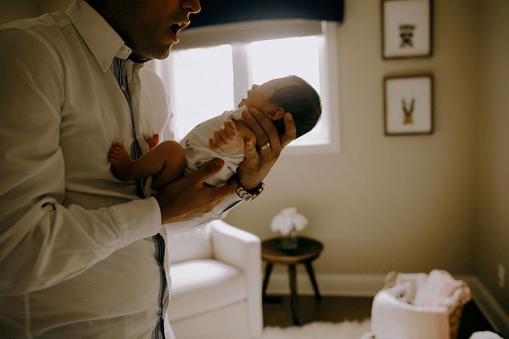 sudbury newborn photography cute baby girl