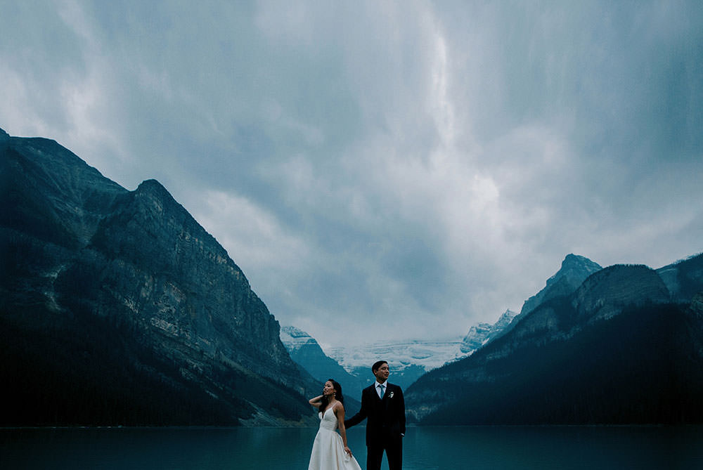 Fairmont Lake Louise Wedding Photography