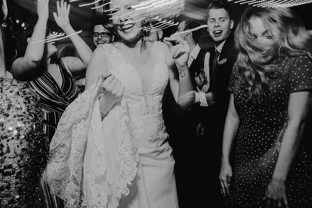 Dance party at Wedding reception at Caruso Club Sudbury