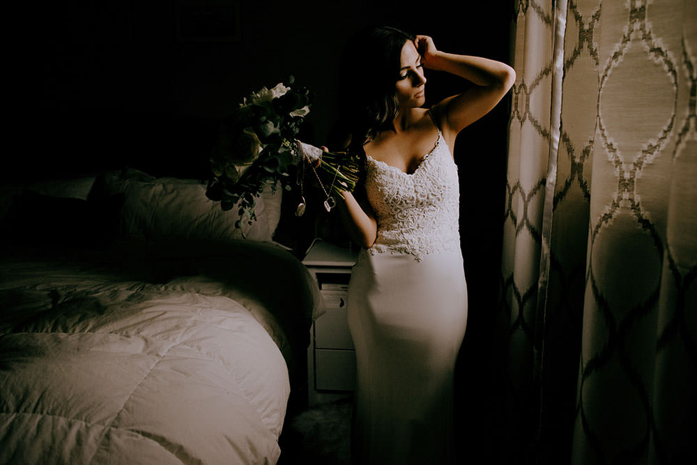 bridal portraits ontario wedding photography