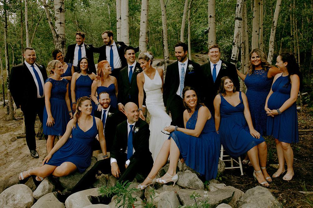 sudbury wedding photography bridal party portrait