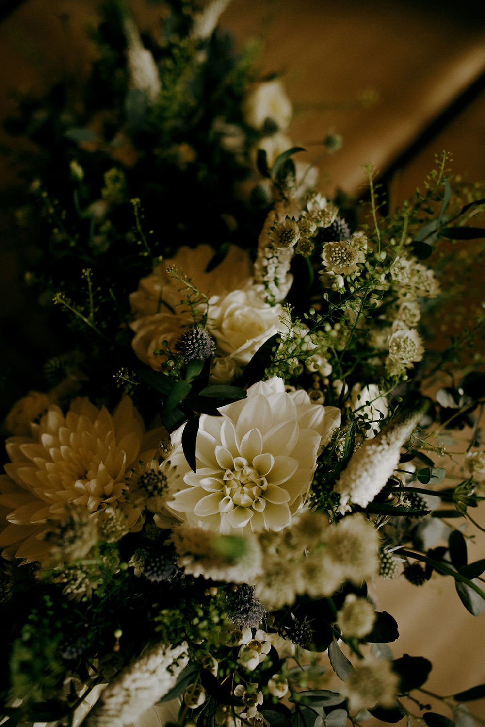 bridal bouquet at idylwylde wedding