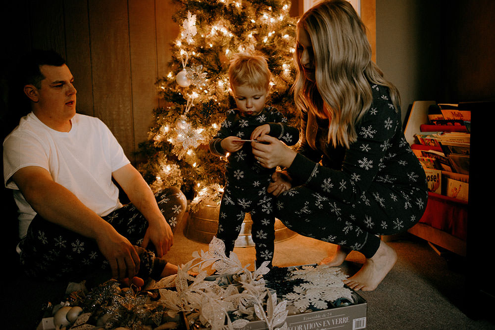 christmas sudbury family portrait