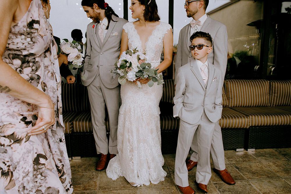 idylwylde wedding family portrait