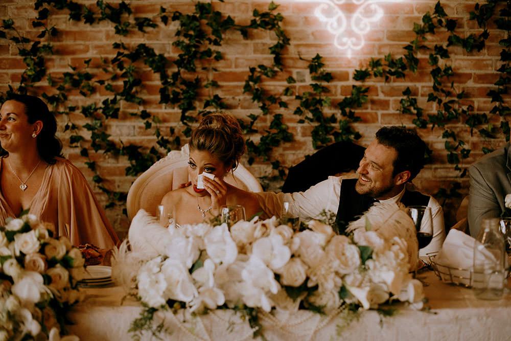 Paris Ontario Wedding reception candid life