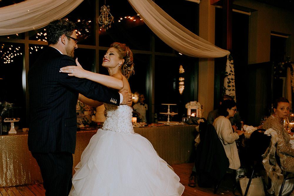 Paris Ontario Wedding first dance