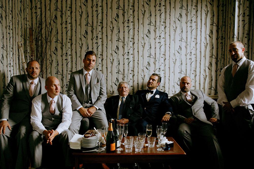 Paris Ontario Wedding grooms men