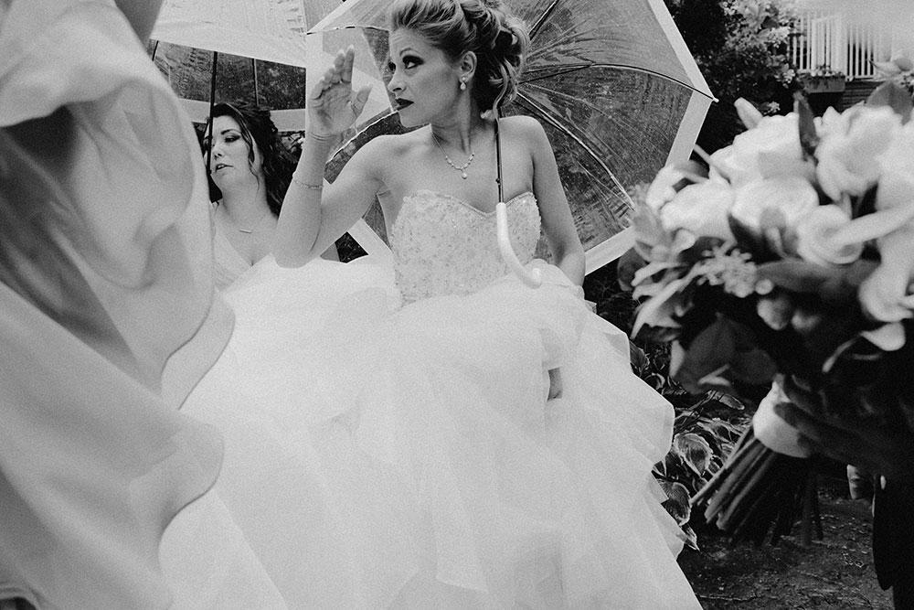 Paris Ontario Wedding party candidly walking