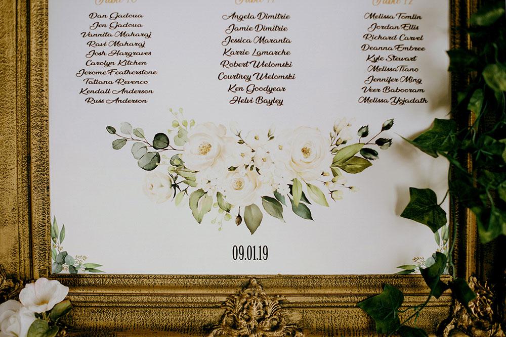 Paris Ontario Wedding detail