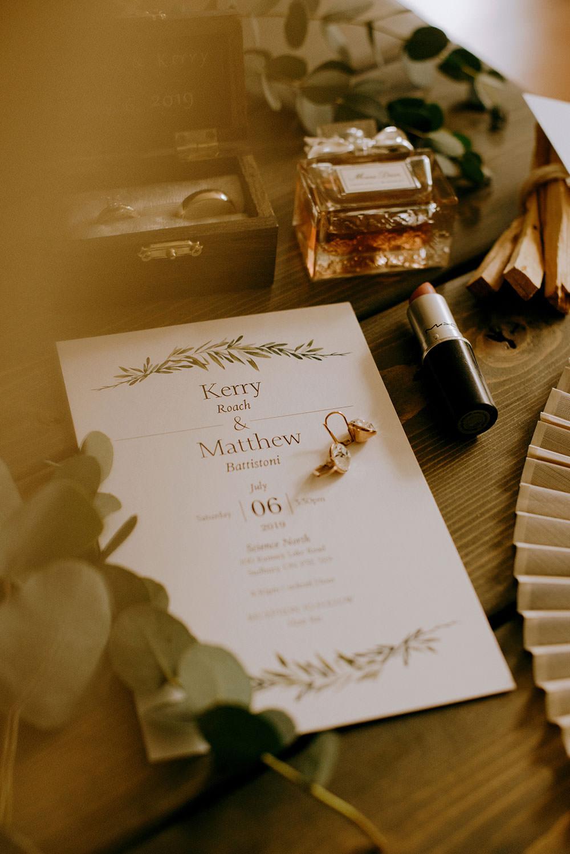 wedding detail photography in sudbury