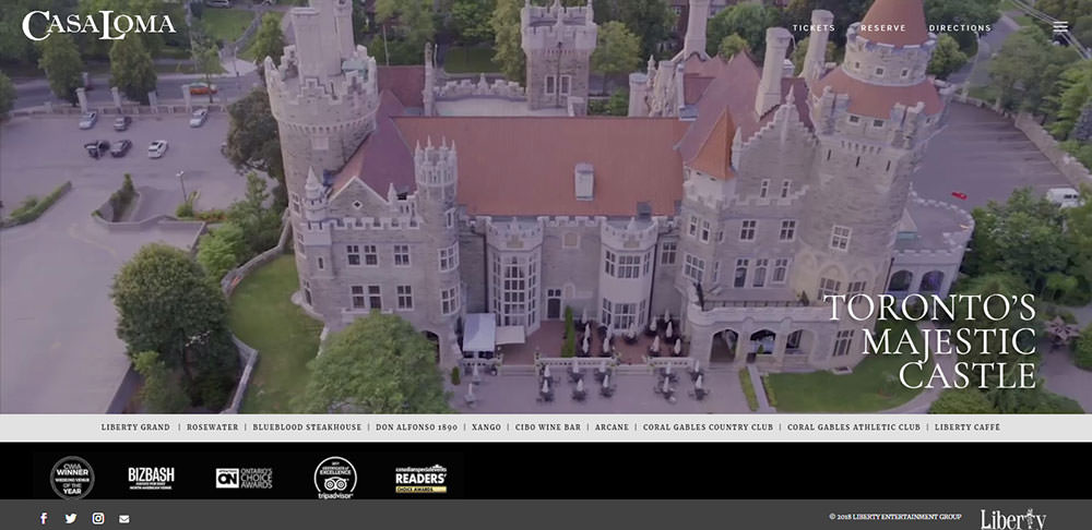 Casa Loma Toronto Wedding Venue