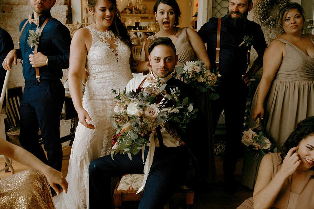 award winning wedding photography at cedar nest cafe downtown sudbury