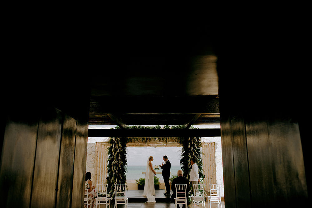 Royalton Riviera Cancun Wedding alter