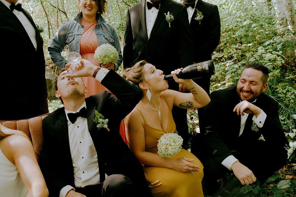 best bridal party portrait