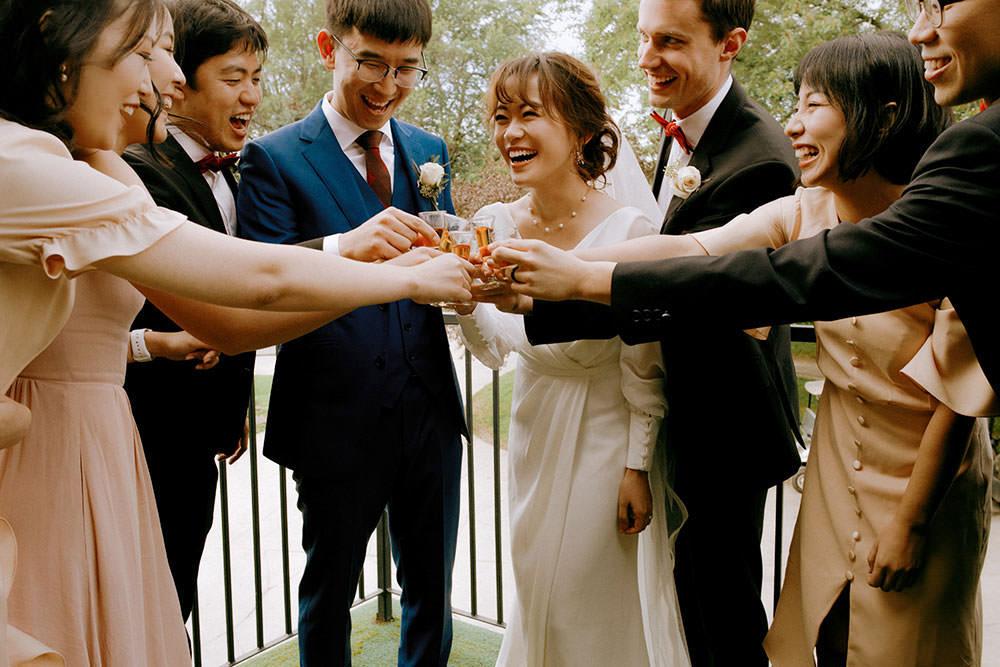 ottawa bridal party toasts to love